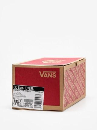 Buty Vans Old Skool (oversized/lace/black/port/royale)