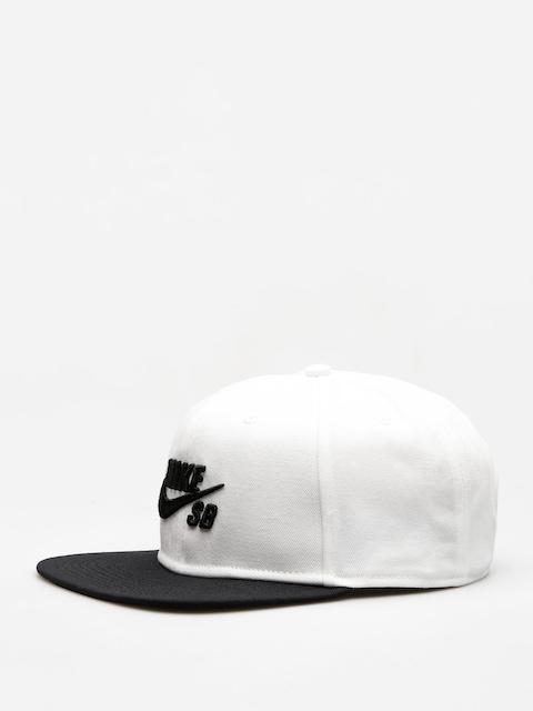 Czapka z daszkiem Nike SB Sb Icon Snapback ZD (white/black/black/black)