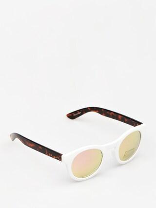 Okulary przeciwsłoneczne Vans Lolligagger Wmn (white/matte tortoise)