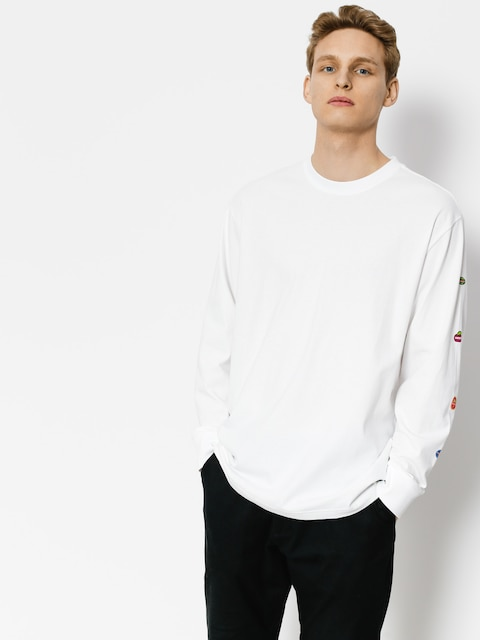 Longsleeve Element Yawye (optic white)