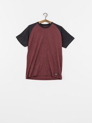T-shirt Element Basic Raglan (oxblood heather)
