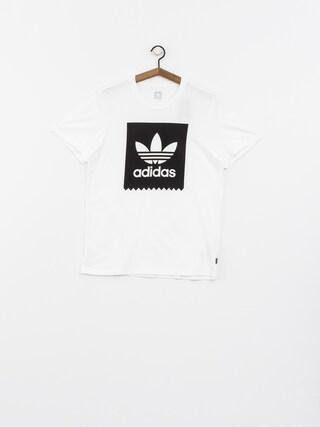 T-shirt adidas Solid Bb (white/black)