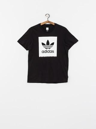 T-shirt adidas Solid Bb (black/white)