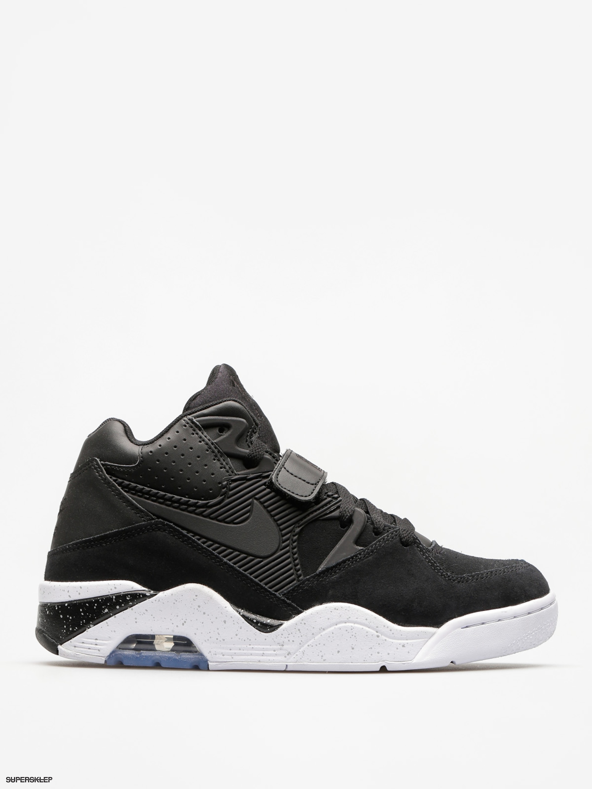 Buty Nike Air Force 180 (black/black white)