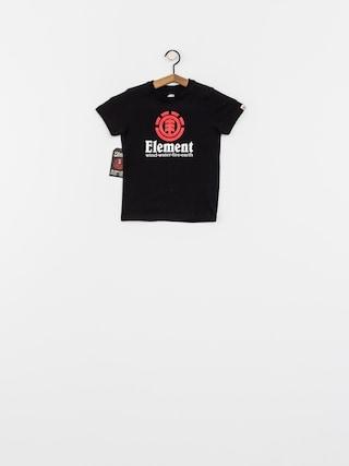 T-shirt Element Vertical Boy (flint black)
