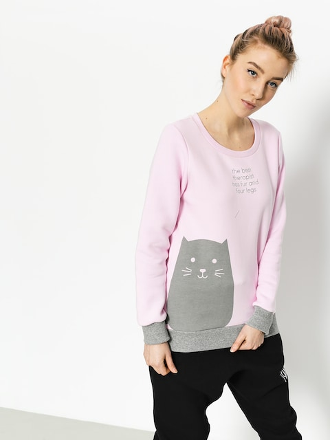 Bluza Diamante Wear Fur And Four Legs Wmn (pink/grey)