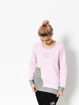 Bluza Diamante Wear Fur And Four Legs Wmn (pink/grey)