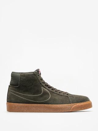 Buty Nike SB Sb Zoom Blazer Mid (sequoia/sequoia medium olive black)