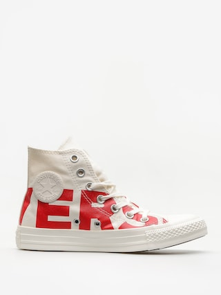 Trampki Converse Chuck Taylor All Star Hi (natural/enamel red/egret)