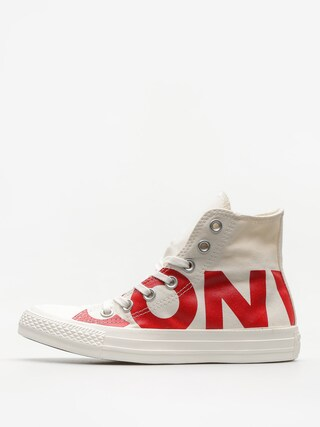 Trampki Converse Chuck Taylor All Star Hi (natural/enamel red/egret)