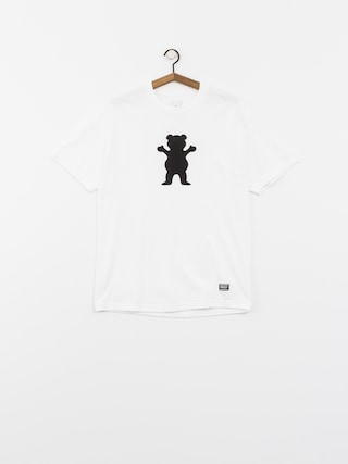 T-shirt Grizzly Griptape Og Bear Logo Basic (white)