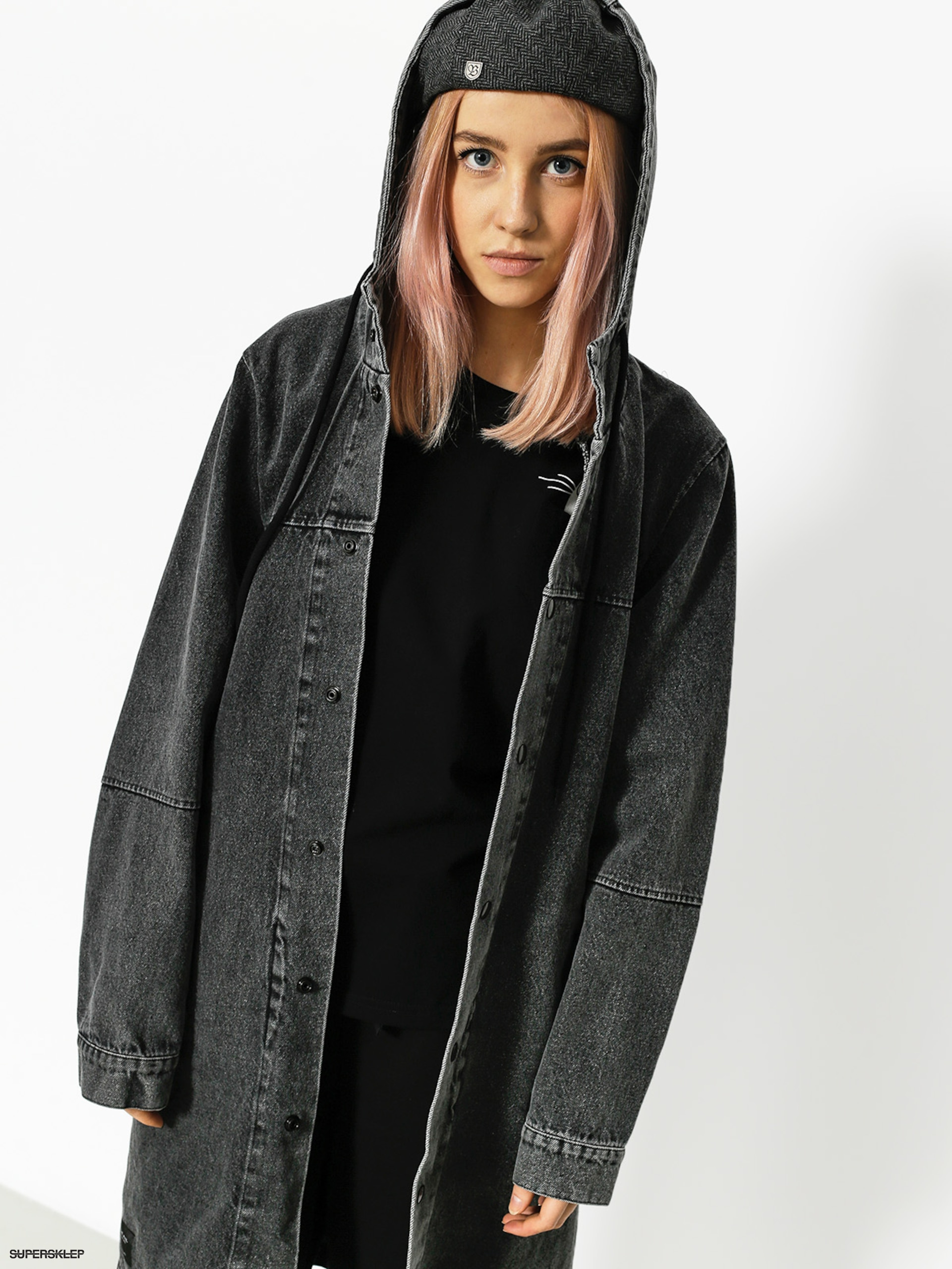 Kurtka The Hive Parka Wmn (washed black)