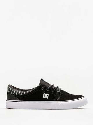 Buty DC Trase Se (black/white/black)