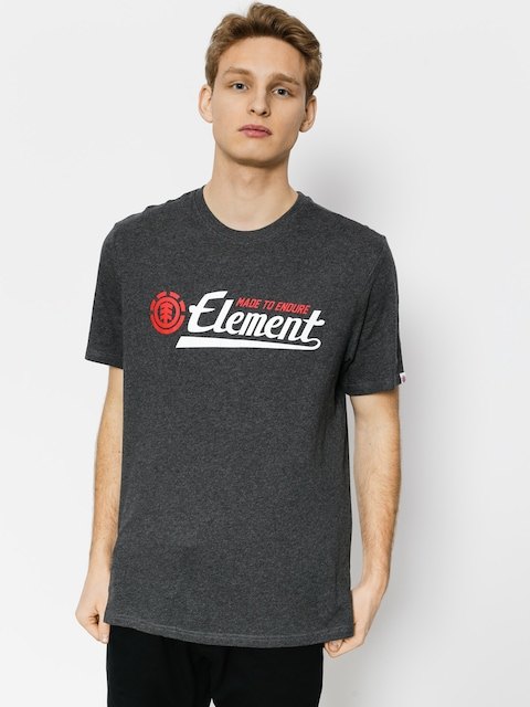 T-shirt Element Signature (charcoal heathe)