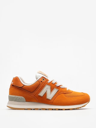 Buty New Balance 574 (vintage/orange)