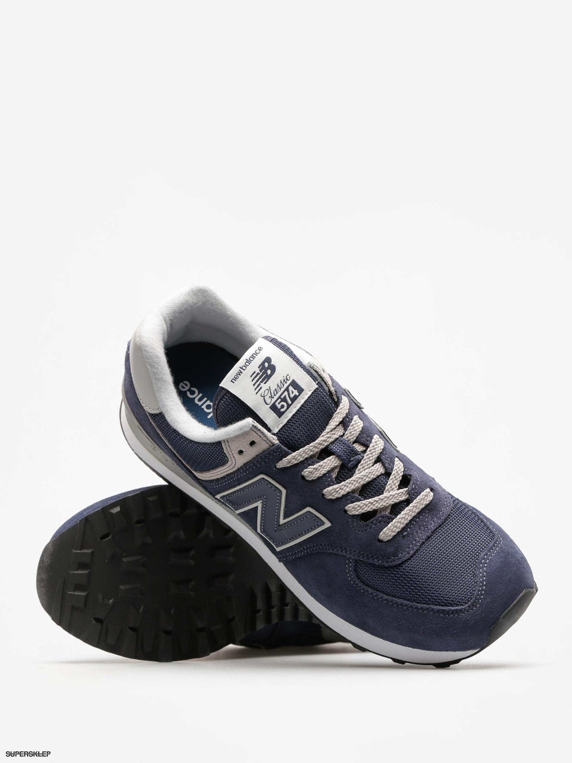 hot sale online f9737 93445 Buty New Balance 574 (black/iris)