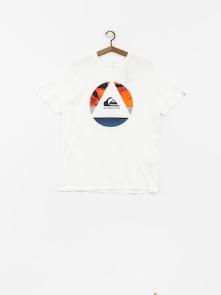 T-shirt Quiksilver Classic Fluid Turns (white)