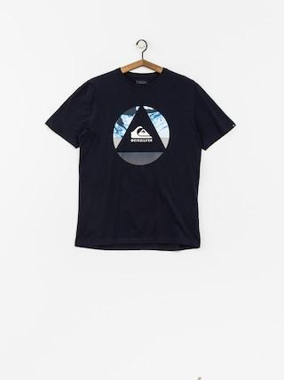 T-shirt Quiksilver Classic Fluid Turns (navy blazer)