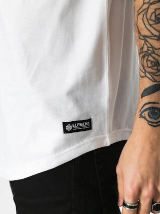 Koszulka Element Basic Raglan Qtr (optic white)
