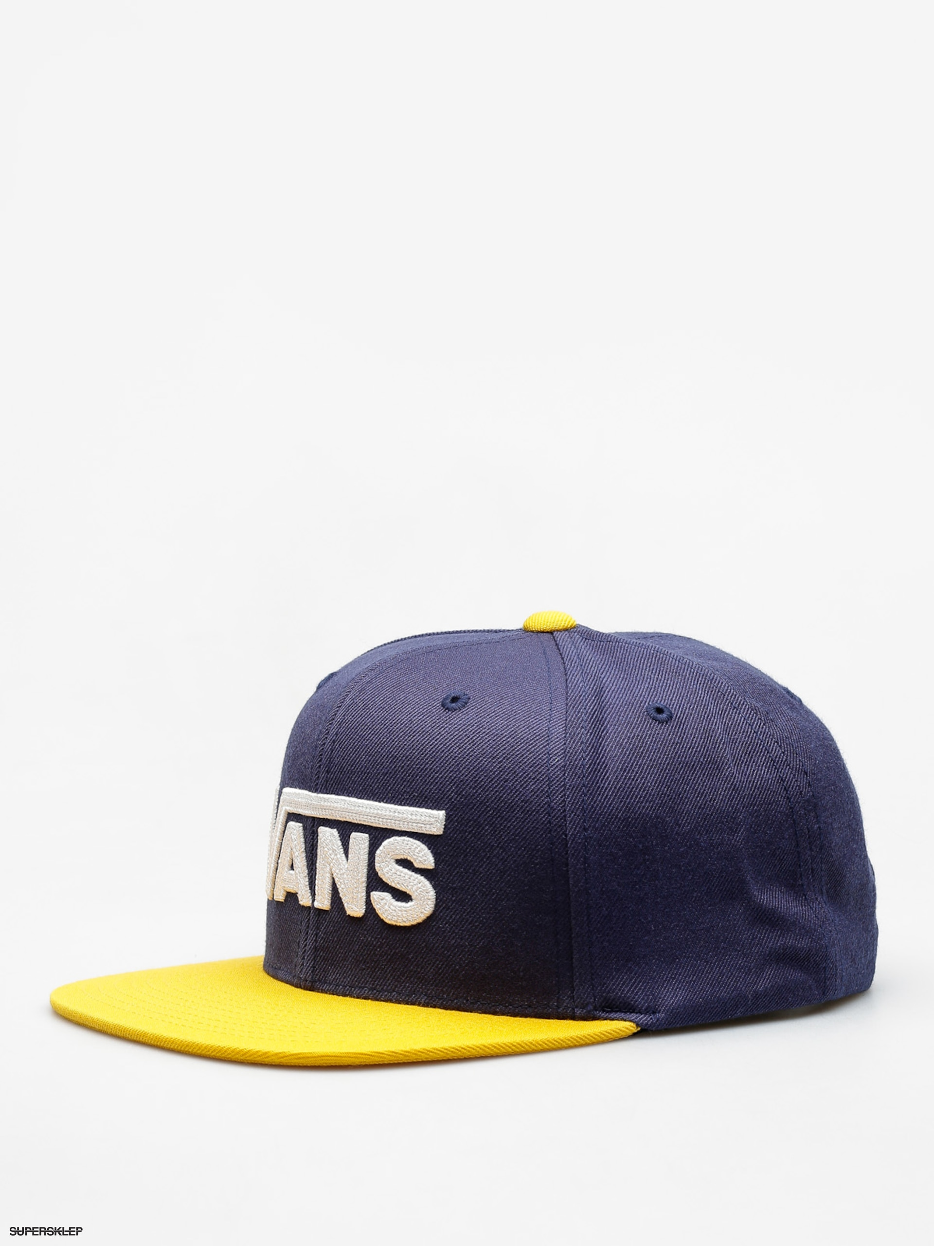 Czapka z daszkiem Vans Drop V II Snapback ZD (dress/blues old/gold)