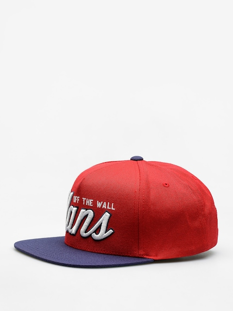 Czapka z daszkiem Vans Hayden Snapback ZD (chili/pepper dress/blues)