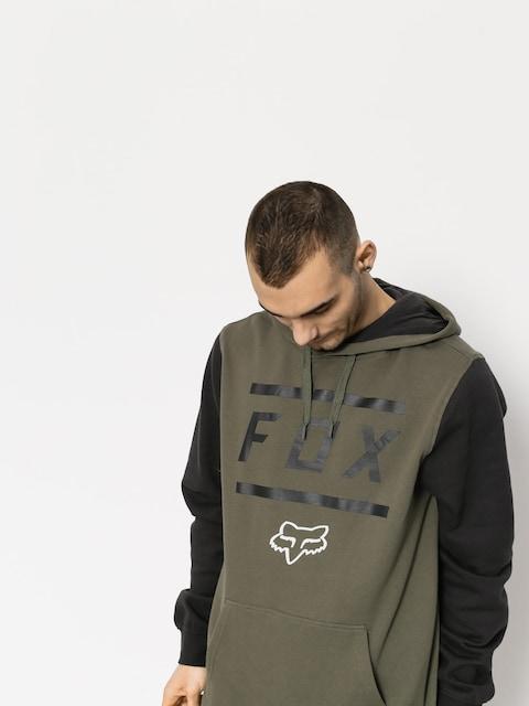 Bluza z kapturem Fox Listless HD (fat grn)