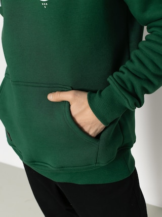 Bluza z kapturem Nervous Arms HD (green)