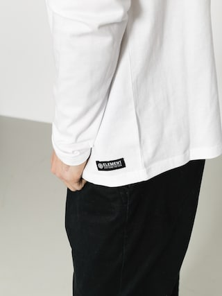 Longsleeve Element Basic Crew (optic white)
