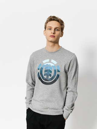 Bluza Element Logo Fill Crew (grey heather)