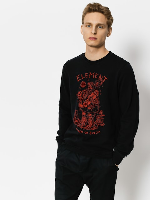 Bluza Element River Keeper Crew (flint black)