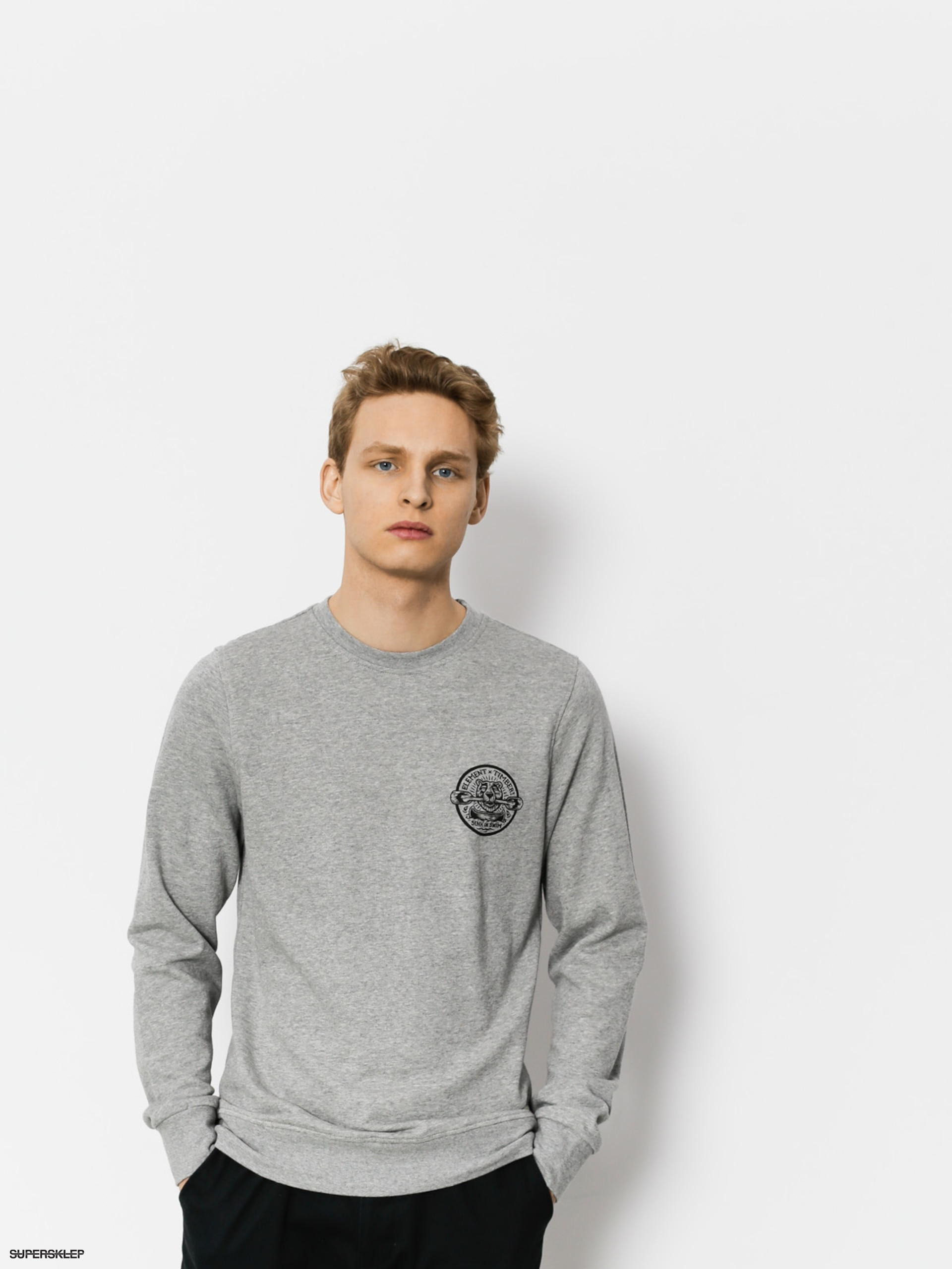 Bluza Element Roar N Row Crew (grey heather)