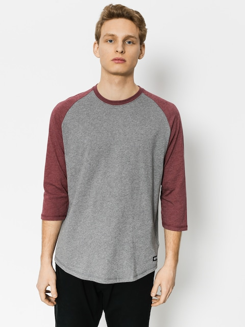 Koszulka Element Basic Raglan Qtr (grey heather)