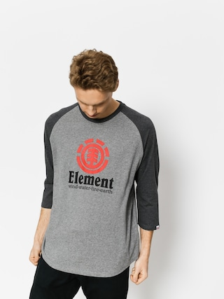Koszulka Element Vertical Raglan Qtr (grey heather)