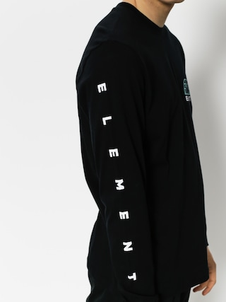 Longsleeve Element Terra (flint black)
