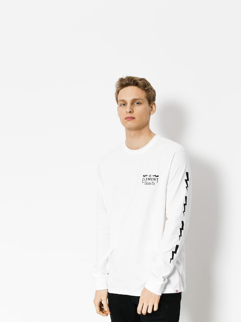 Longsleeve Element Zap (optic white)