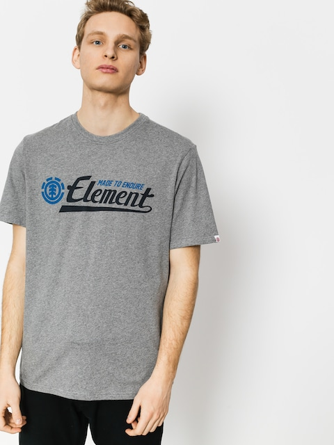 T-shirt Element Signature (grey heather)
