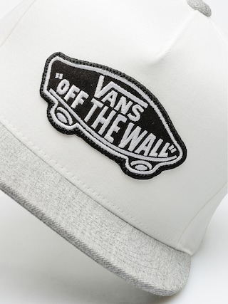Czapka z daszkiem Vans Classic Patch Snapback ZD (white heather/grey)