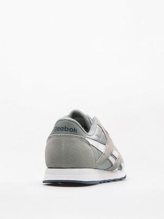 Buty Reebok Cl Nylon (platinum/jet blue)