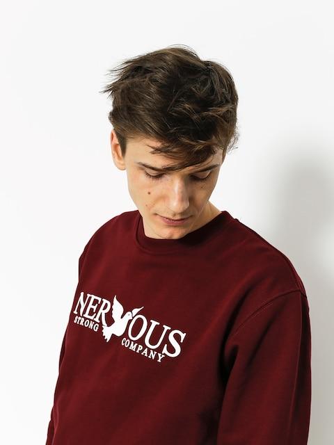 Bluza Nervous Classic (maroon)