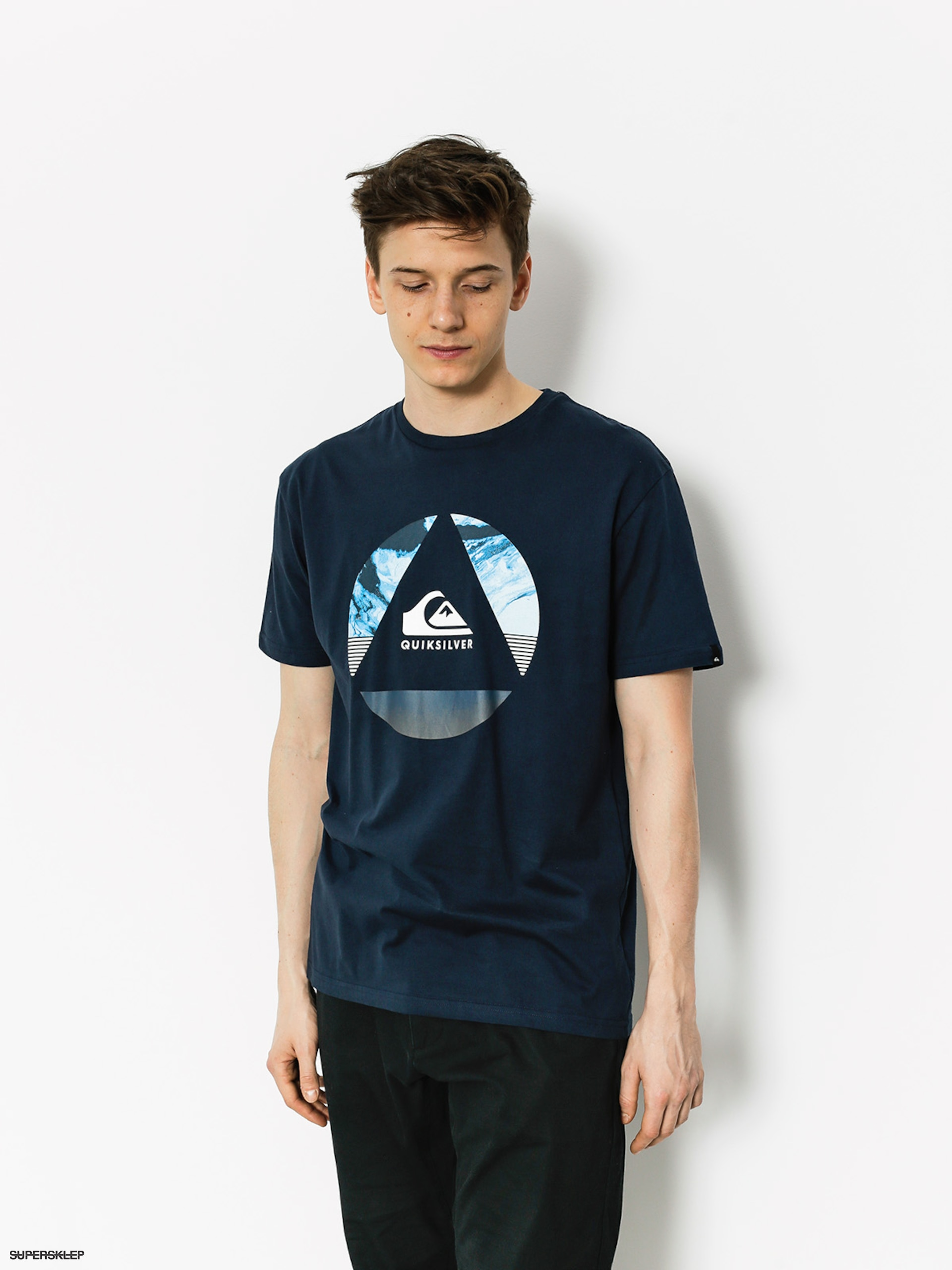 T-shirt Quiksilver Classic Fluid Turns