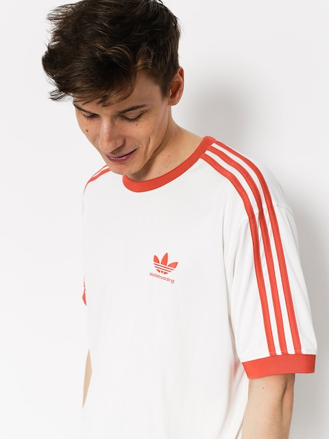 T-shirt adidas Clima Club Jers (white/trasca)