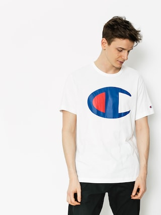 T-shirt Champion Crewneck T Shirt (wht)