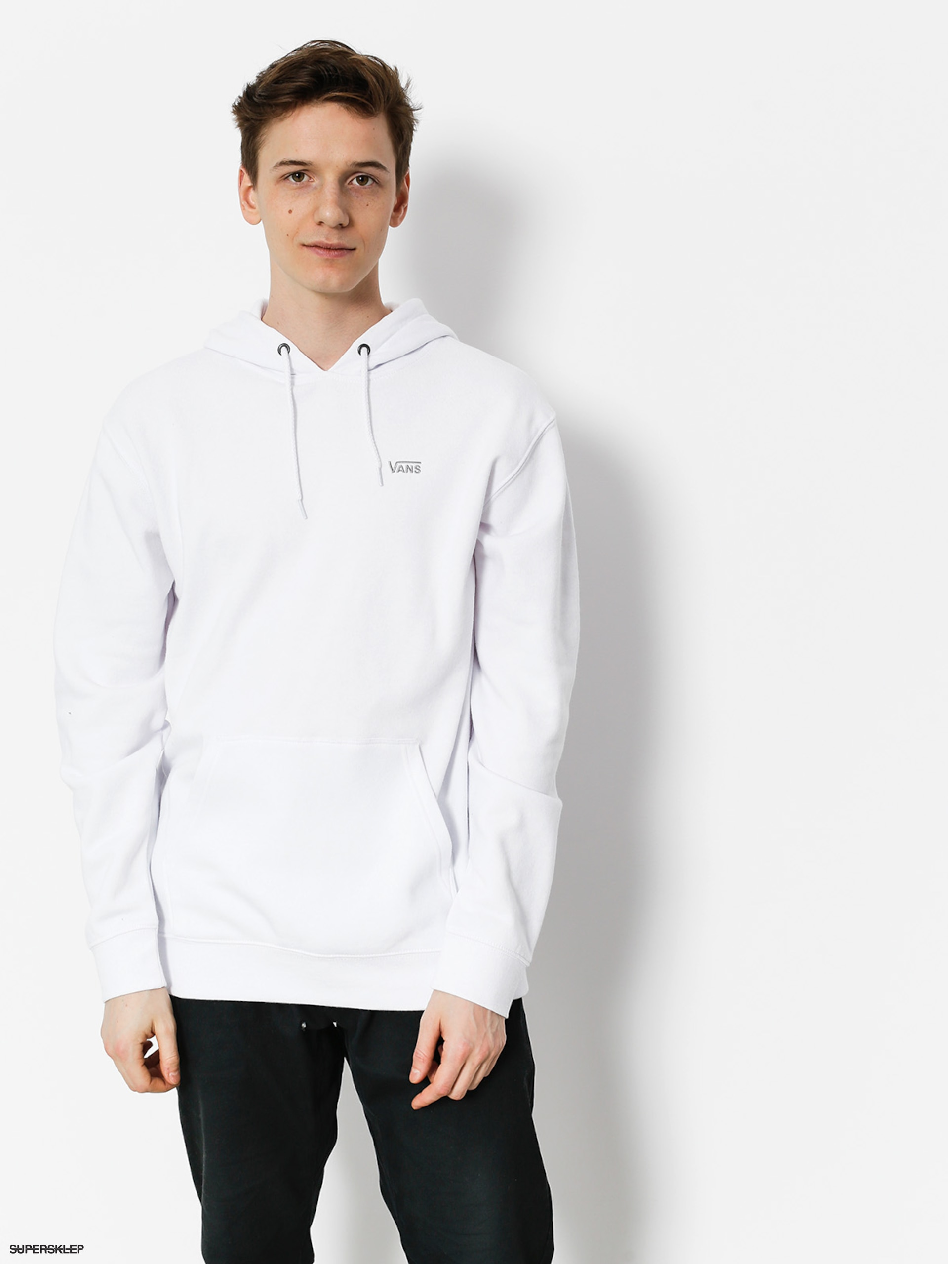 Bluza z kapturem Vans Core Basics Pullover HD (white)
