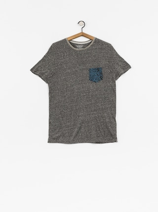 T-shirt Quiksilver Broken Leash (dark grey heather)