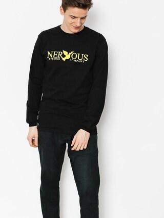 Longsleeve Nervous Classic (black/yellow)