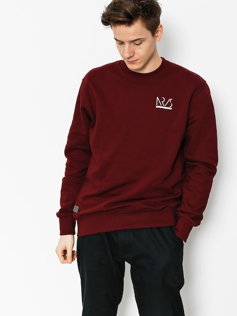 Bluza Nervous Incomplete (maroon)