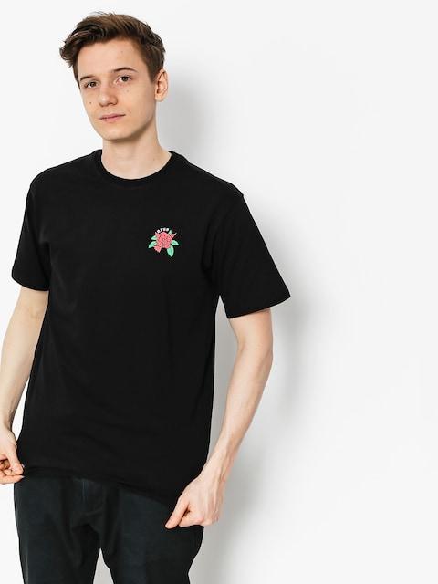 T-shirt Nervous Rose (black)