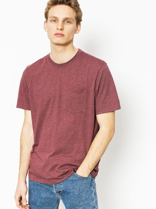T-shirt Element Basic Pocket Cr (oxblood heather)