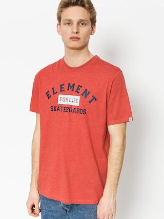 T-shirt Element For Life (aurora red hthr)