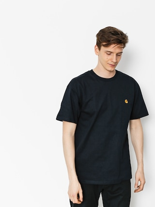 T-shirt Carhartt Chase (dark navy/gold)
